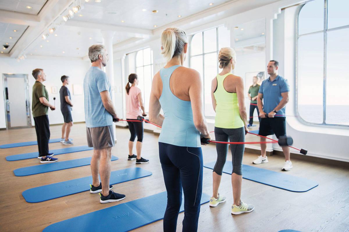 Fitness & Wellness - Hapag-Lloyd Cruises