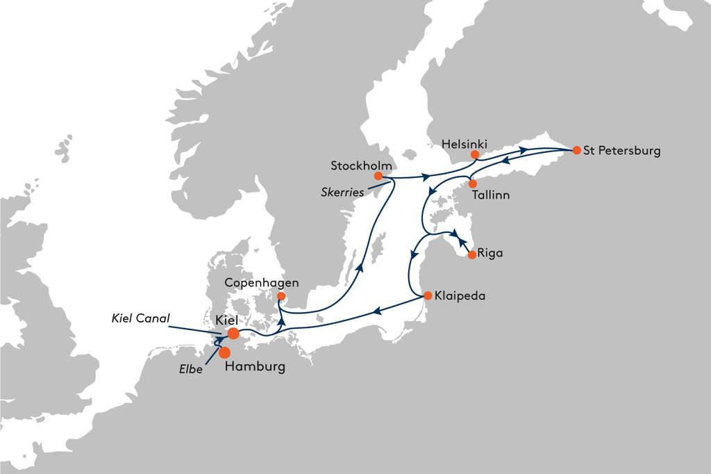 80ef7c2980 Cruise from Hamburg to Kiel with MS EUROPA - EUR2010 - Hapag-Lloyd ...